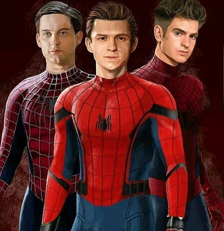 Tobey Maguire, Andrew Garfield, and Tom Holland have played Spider-Man in the last 15 years.