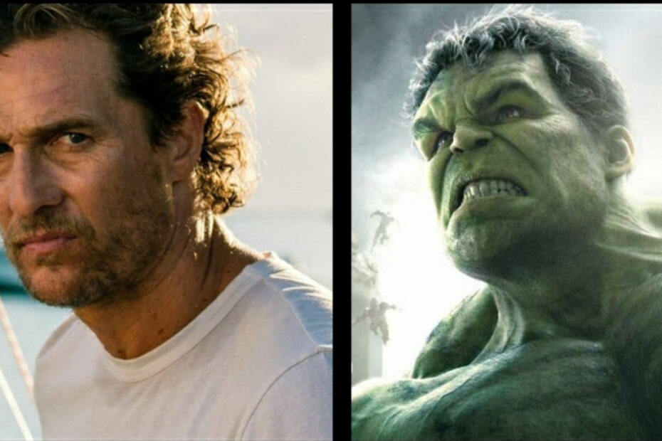 Matthew McConaughey Reveals He Wanted to Play Hulk But Marvel Said 'No'