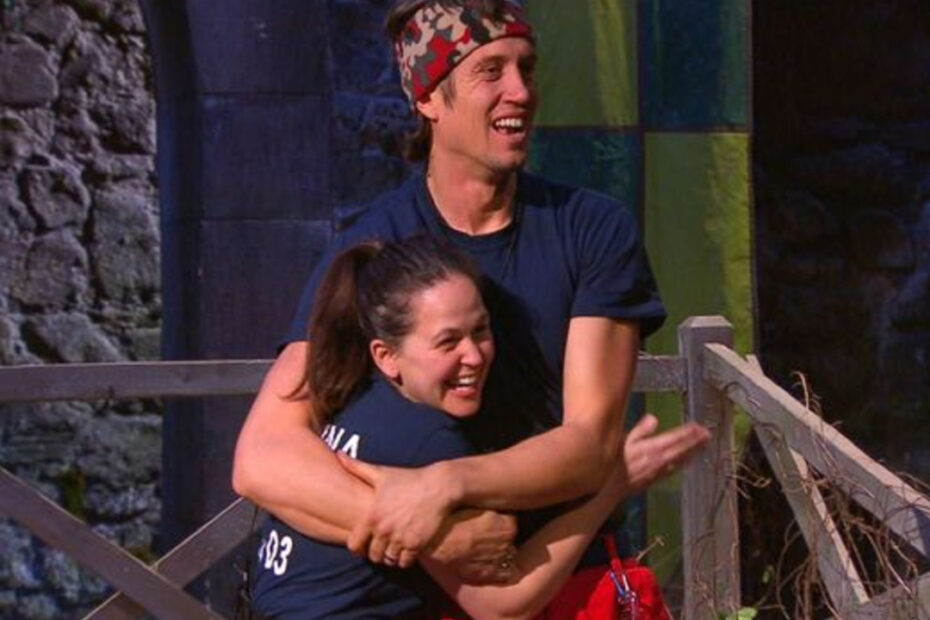 Vernon Kay Defends I'm a Celebrity Champion Giovanna Fletcher