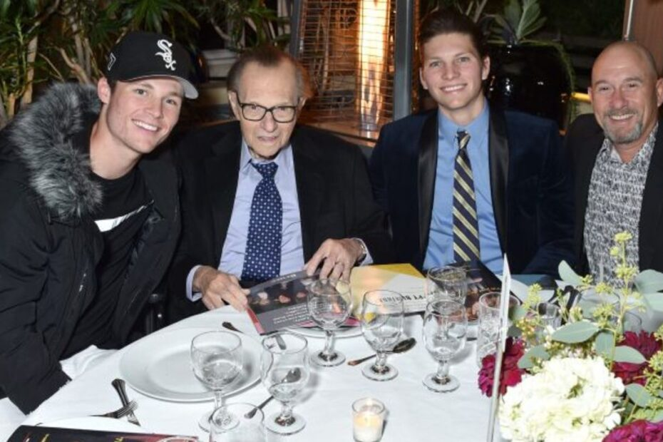 Larry King Son Mourns Father's Death
