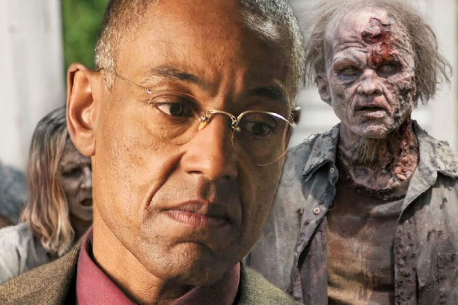 Gus Fring Died as Zombie on 'Breaking Bad Thanks to Special Help from 'The Walking Dead'