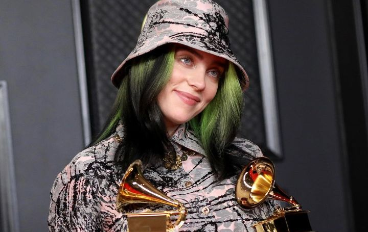 Billie Eilish Green Hair is Fake!