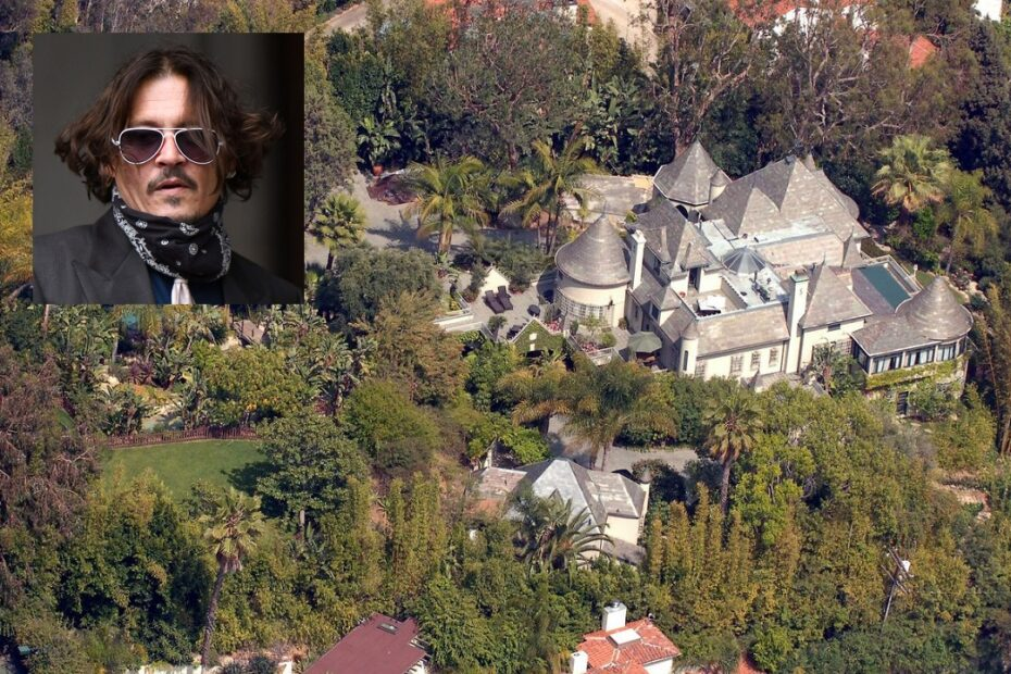 A Relaxing Break-In: Johnny Depp's Intruder Took a Shower and Had the Drink of His Lifetime in His Home