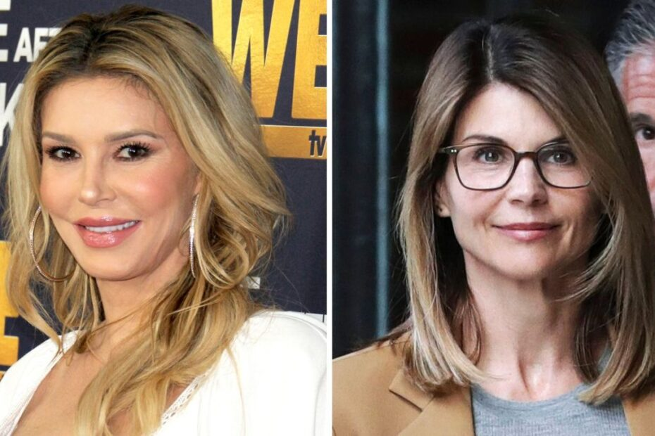 Brandi Glanville Throws Sly Dig at Lori Loughlin & College Admissions Scandal