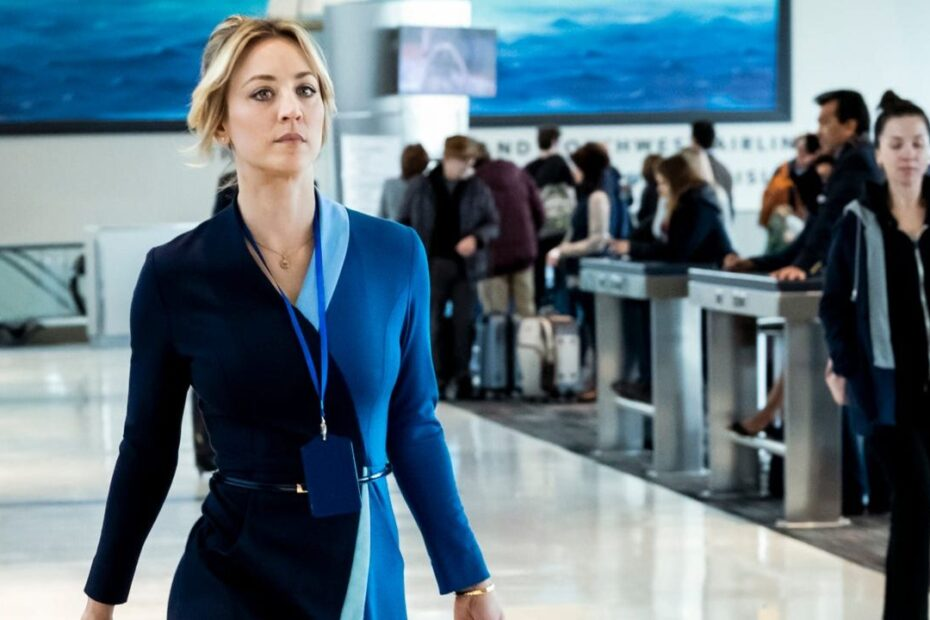 Kaley Cuoco Admits She was Extremely Worried About 'The Flight Attendant'