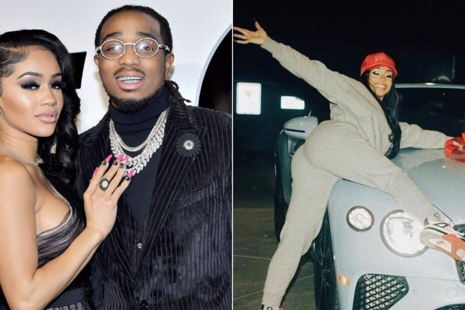 Rapper Quavo Take Back Gifted Bentley