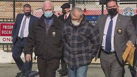 Charles Polevich was arrested by the Nassau County Police