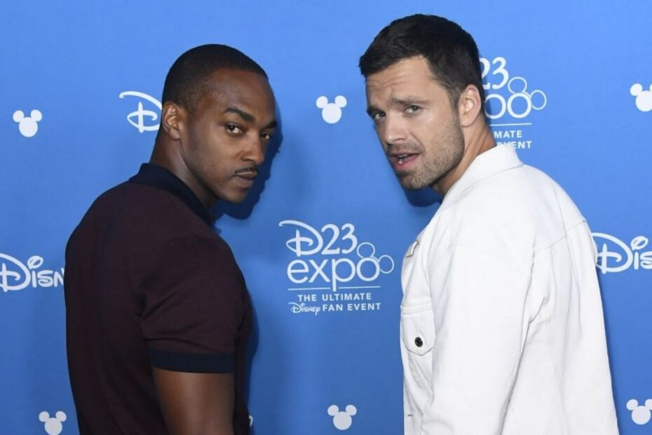 "Anthony Mackie Says 'The Falcon and the Winter Soldier' Co-Star Sebastian Stan is the ""Most Boring Person"""