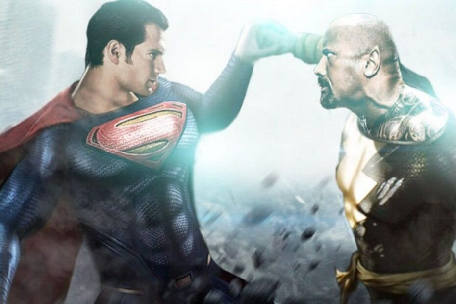 "Dwayne ""The Rock"" Johnson is Reportedly a Big Fan of Henry Cavill's Superman"