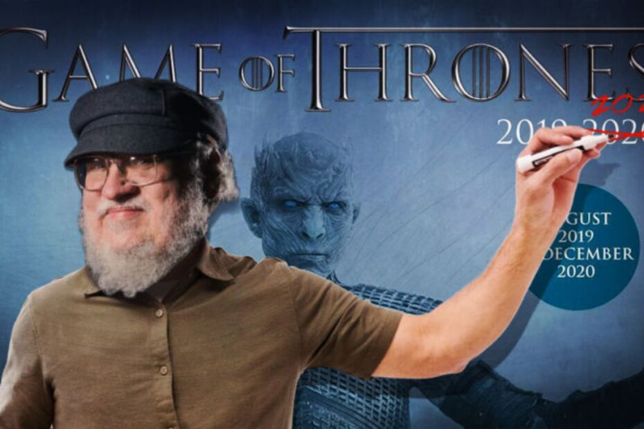 George R.R. Martin Shares Disappointing Update on 'The Winds of Winter'