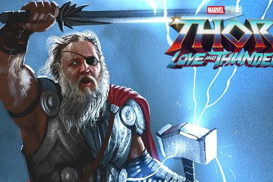 Russell Crowe Discusses His New Character on 'Thor: Love and Thunder'