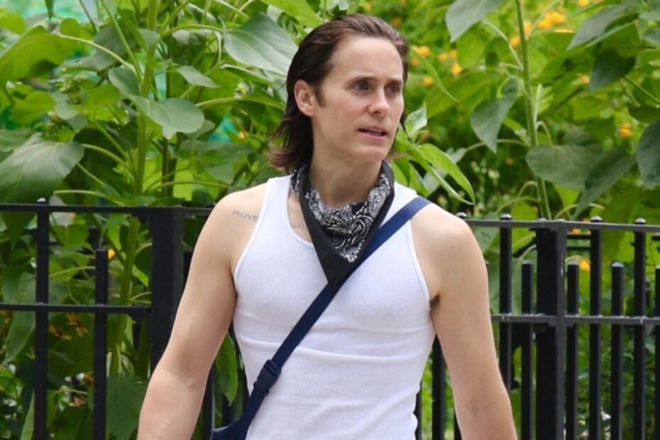 Jared Leto Looks Fit Following Intense Workout at Manhattan Gym