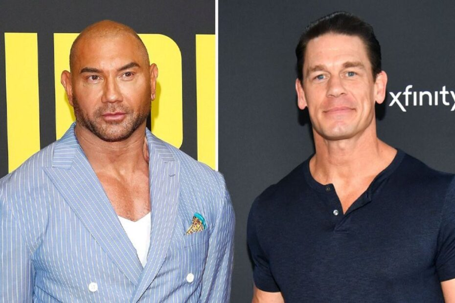John Cena Responds to Dave Bautista's Remarks About Not Wanting to Be Co-stars in Big Screens