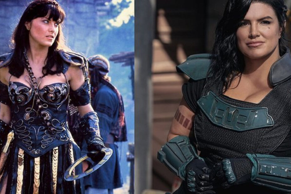 Could Lucy Lawless Replace Gina Carano in The Mandalorian?